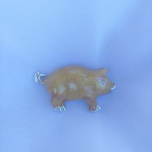 Great condition vintage Pig brooch